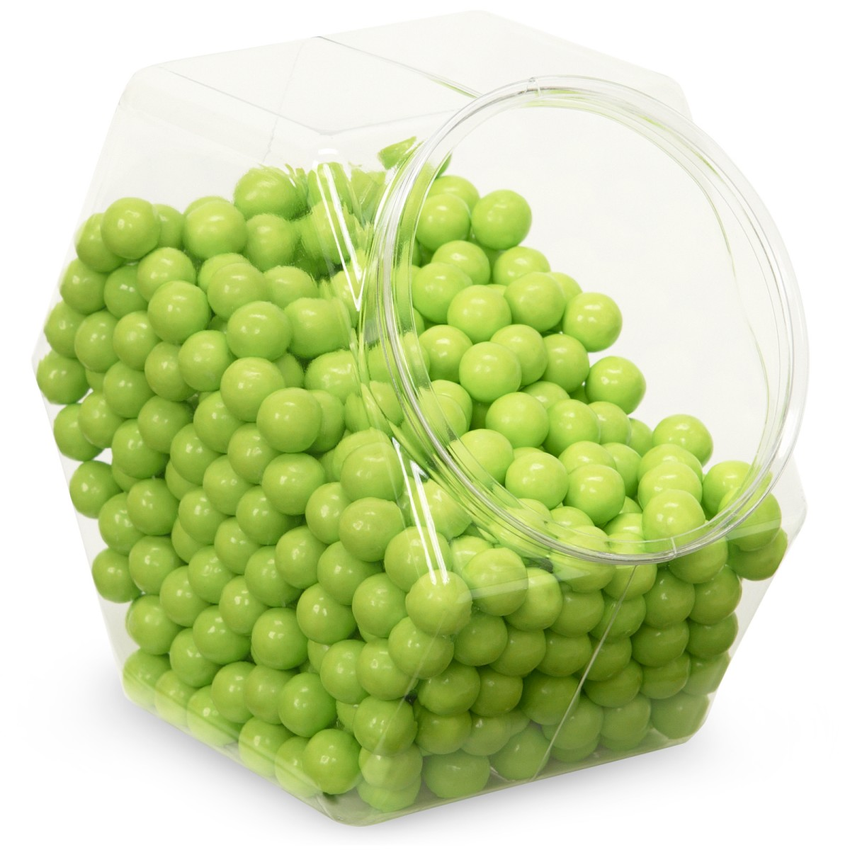 Lime Green Sixlets Candy